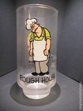 Popeye Glasses (1975 Coca Cola) Kollect-a-set Series ITEM#5