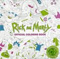 Rick and Morty Official Coloring Book SC (2017 Titan Books) 1-1ST