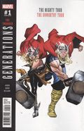 Generations Unworthy Thor and Mighty Thor (2017) 1B