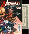 Avengers (1997 3rd Series) 500DF.SIGNED