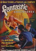 Fantastic Adventures (1939-1953 Ziff-Davis Publishing) Pulp Aug 1940