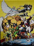 Alpha Flight Banner (1985 Marvel) ITEM#1