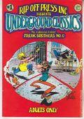 Underground Classics (1986) #1, 4th Printing