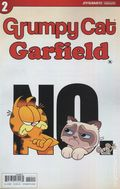Grumpy Cat Garfield (2017 Dynamite) 2A