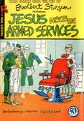 Jesus Meets The Armed Services (1970 Rip Off Press) #1, 3rd Printing