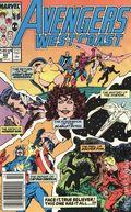Avengers West Coast (1985) Mark Jewelers 49MJ