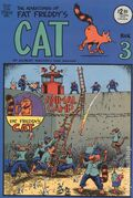 Adventures of Fat Freddy's Cat (1977-1992 Rip Off Press) #3, 6th Printing