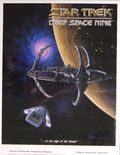 Star Trek Deep Space Nine Poster (1993 Paramount) ITEM#2