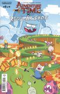 Adventure Time Regular Show (2017 Boom) 2A