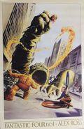 Fantastic Four Poster (1994 Marvel) By Alex Ross ITEM#1