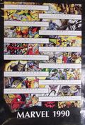 1990 Marvel Calendar Poster (1990 Marvel) ITEM#1