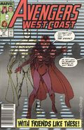 Avengers West Coast (1985) Mark Jewelers 47MJ