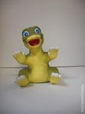 Land Before Time Vintage Hand Puppets (1988 Buger King) ITEM#1