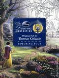 Disney Dreams Collection: Original Art by Thomas Kinkade Coloring Book SC (2017 Andrews McMeel) 1-1ST