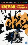 Coloring DC Batman: The Court of Owls SC (2017 DC) An Adult Coloring Book 1-1ST
