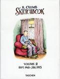 R. Crumb Sketchbook HC (2016 Taschen) 2-1ST