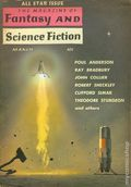 Fantasy and Science Fiction (1949-Present Mercury Publications) Pulp Vol. 18 #3