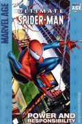 Marvel Age Ultimate Spider-Man Power and Responsibility SC (2004 Marvel) A Target Saddle-Stitched Collection 1-1ST