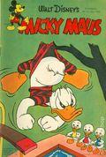 Micky Maus (German Series 1951- Egmont Ehapa) 1954, #7