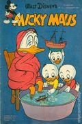 Micky Maus (German Series 1951- Egmont Ehapa) 1954, #10
