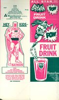 Batman TV Show Promotional Drink Carton (1966 DC) ITEM#1