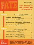 Fate Magazine (1948-Present Clark Publishing) A Pulp Digest Vol. 14 #2