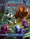 Starfinder Alien Archive HC (2017 Paizo) Role-Playing Game 1-1ST