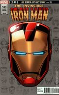 Invincible Iron Man (2017 4th Series) 593C