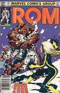 Rom (1979-1986 Marvel) Mark Jewelers 45MJ
