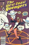 Avengers West Coast (1985) Mark Jewelers 41MJ