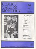 Comics Values Monthly (1986) 36