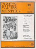 Comics Values Monthly (1986) 38