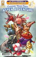 Choose Your Own Aspen Adventure (2017 Aspen Comics) Halloween Comicfest 1