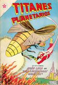Titanes Planetarios (Spanish Language 1953 Editorial Novaro) 133