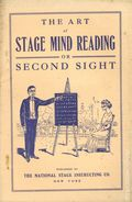 Art of Stage Mind Reading or Second Sight (1913) 1