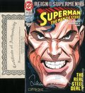 Superman The Man of Steel (1991) 25DF.SIGNED