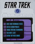 Star Trek The Book of Lists HC (2017 Harper Design) 1-1ST