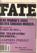 Fate Magazine (1948-Present Clark Publishing) Digest/Magazine Vol. 31 #7