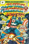 Captain America (1968 1st Series) UK Edition 197UK