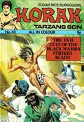 Korak Son of Tarzan (1971-1976) UK 45