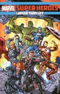 Marvel Super Heroes Larger than Life TPB (2017 Marvel) 1-1ST