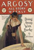 Argosy Part 3: Argosy All-Story Weekly (1920-1929 Munsey/William T. Dewart) Oct 22 1927