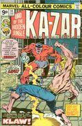 Ka-Zar (1974) UK Edition 14UK