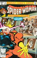 Spider-Woman (1978-1983 1st Series) UK Edition 33UK