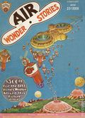 Air Wonder Stories (1929-1930 Stellar) Pulp Vol. 1 #8