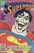Superman (1987 2nd Series) Canadian Price Variant 9