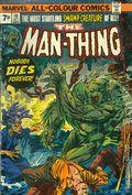 Man-Thing (1974 1st Series) UK edition 10UK