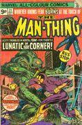 Man-Thing (1974 1st Series) UK edition 21UK