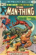 Man-Thing (1974 1st Series) UK Edition 20UK