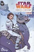 Star Wars Forces of Destiny Leia (2018 IDW) 1A